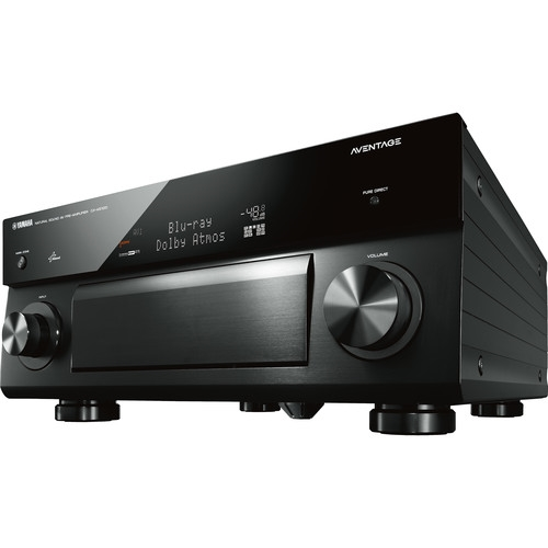 Yamaha Aventage 11.2 Channel AV Network Receiver Wi-Fi Black - RX-A3040  ( ONE LEFT)