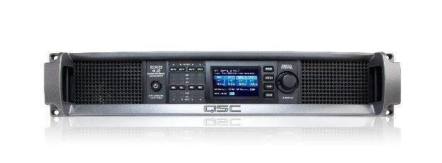 QSC 4-Ch 400W 4 Ohm Power Amplifier - CXD4.2-NA