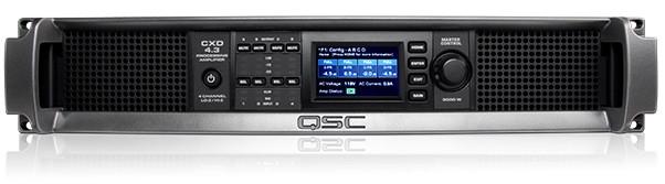 QSC 4-Ch 625W 4 Ohm Power Amplifier - CXD4.3