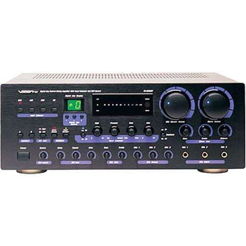 VocoPro Karaoke Mixing Amplifier with Digital Key Control - DA-8909RV