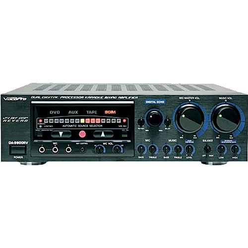 VocoPro Karaoke Mixing Amplifier with Digital Key Control - DA-9800RV