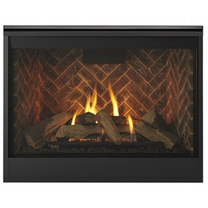 Majestic Fireplaces  Meridian 42 Inch top/rear direct - DBDV42IN