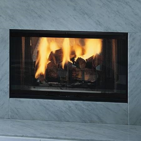 Majestic Designer Series See-Thru Radiant Wood Burning Fireplace 42 Inch - DSR42