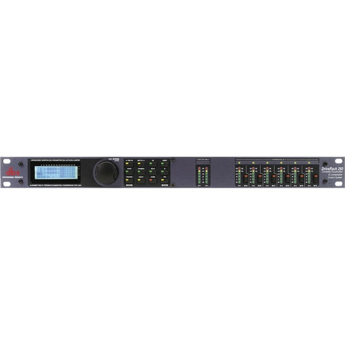 Dbx Equalization and Loudspeaker Control System for Live and Contractor Sound Applications - DriveRack 260