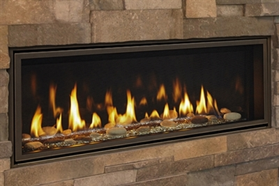 "Majestic Echelon II 36"" See-Through Top Direct Vent Fireplace With IntelliFire Plus Ignition System (NG) - ECHEL36STIN"