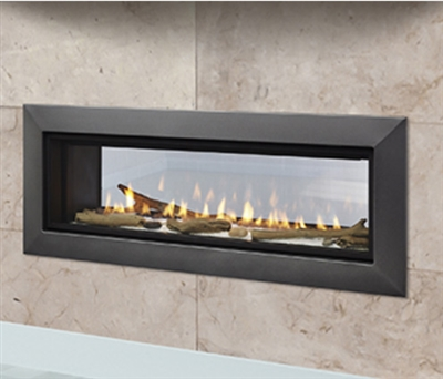 "Majestic Echelon II 48"" See-Through Top Direct Vent Fireplace With IntelliFire Plus Ignition System (NG) - ECHEL48STIN"