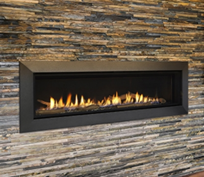 "Majestic Echelon II 60"" Top Direct Vent Fireplace With IntelliFire Plus Ignition System (NG) - ECHEL60IN"