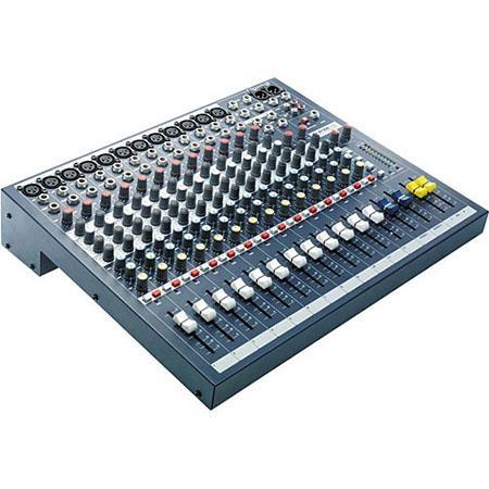 Soundcraft 12 Mono 2 Stereo Channel Recording & Live Sound Audio Console - EPM12