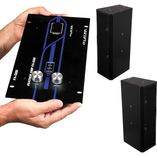 VocoPro Compact Class D Amplifier & Speaker Package - EVENTMANLITE