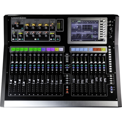 Allen & Heath Chrome Edition Compact Digital Mixing Surface - GLD2-80