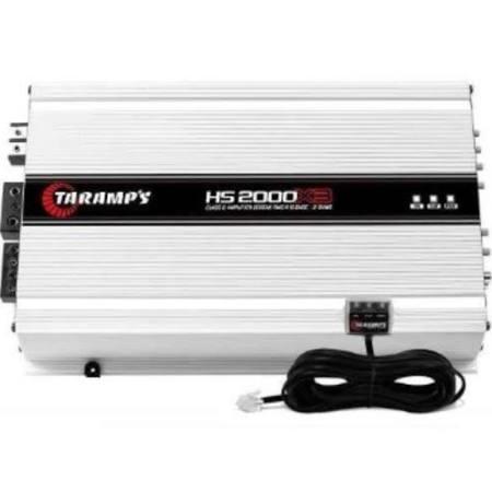 Taramps Tara Class D 2000w 3 Ch 1x1600w 2x200 Amplifier - HS2000X3