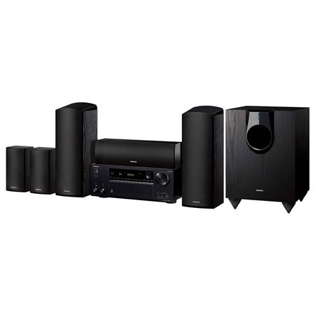 Onkyo HT 2-Ch. 3D Smart Home Theater System Black - HT-S7800