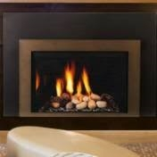 Majestic Triumph Traditional Natural Gas Direct Vent Fireplace - ICFDV40LNTSCSB