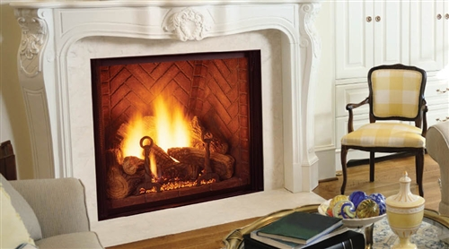 """Majestic Marquis 60"""" Natural Gas Direct Vent Fireplace - KHLDV600NTSCSB"""