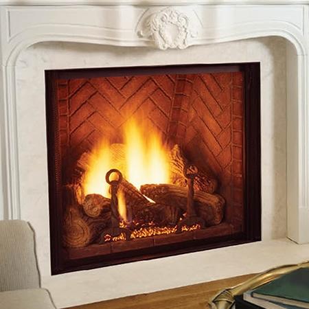 """Monessen Covington Clear View Direct Vent Signature Command Fireplace 44"""" KHLDVP400NTSC"""