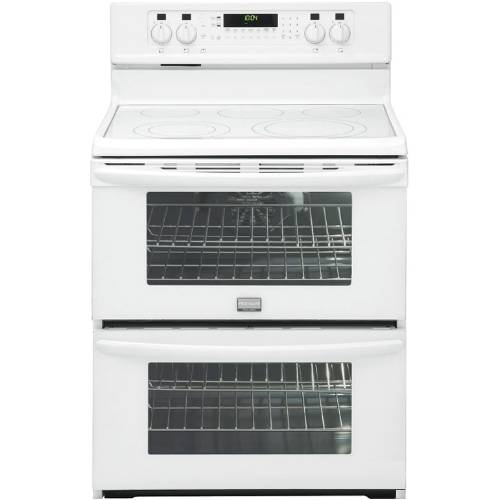 "LG 30"" Freestanding Electric Double-Oven Range - LDE3015SW"