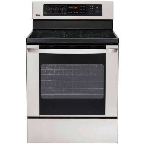 "LG 30"" Freestanding Smoothtop Electric Range - LRE3012ST"
