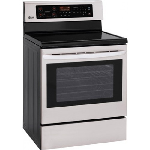 "LG 30"" Freestanding Electric Range - LRE3021ST"