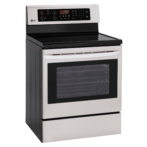 "LG 30"" Freestanding Smoothtop Electric Range - LRE3023ST"