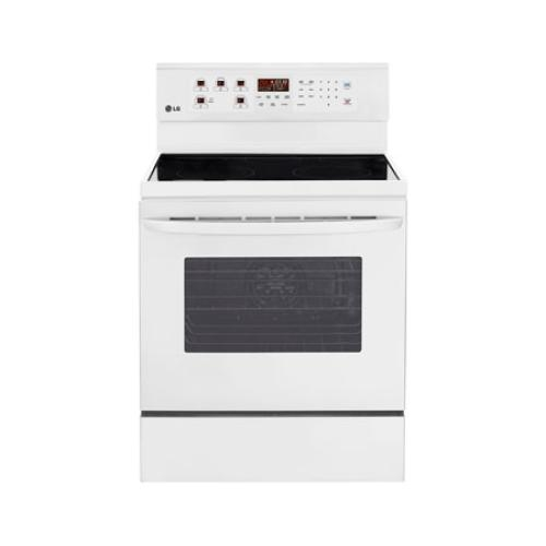 "LG 30"" Freestanding Smoothtop Electric Range - LRE3023SW"