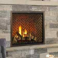 "Majestic Marquis II 42"" Top Direct Vent Fireplace With IntelliFire Touch ignition (NG) - MARQ42IN"