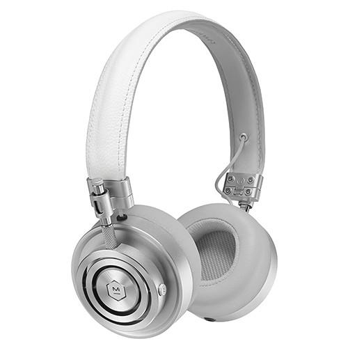 Master & Dynamic Foldable On-Ear Headphones White - MH30S5