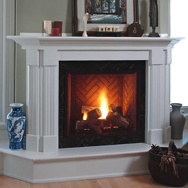 """Monessen Natural Gas Winchester Direct Vent Fireplace 42"""" ML500DVPNSC"""