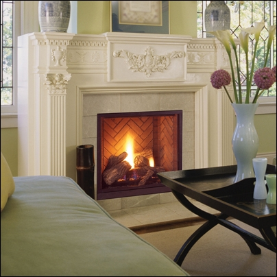 """Majestic 42"""" Direct Vent Natural Gas Fireplace - MLDV500NSC"""