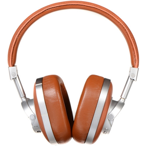 Master & Dynamic Wireless Over-Ear Headphones Brown and Silver - MW60S2