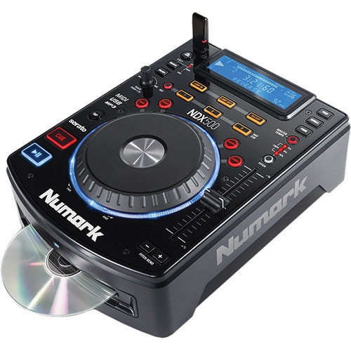 Numark USB/CD Media Player and Software Controller  - NDX500