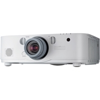 NEC 5200 Lumen WUXGA Professional Installation LCD Projector with NP13ZL Lens - NP-PA521U -13ZL