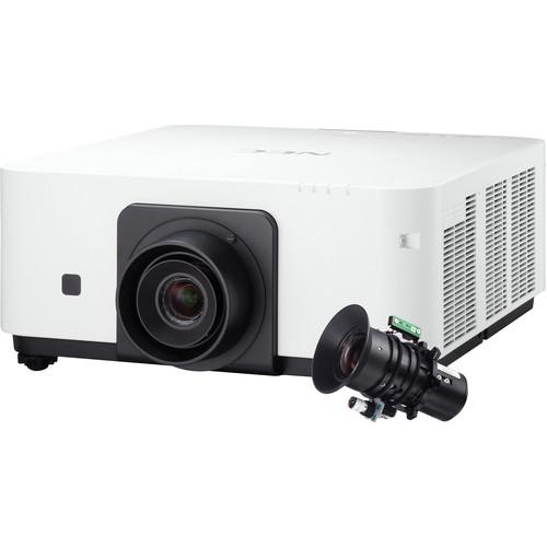 NEC 6000 Lumen WUXGA Professional Installation Laser DLP Projector with NP35ZL Lens - NP-PX602UL-W-35