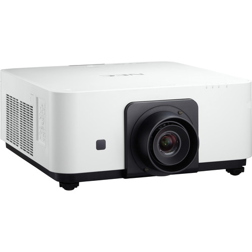 NEC 6000 Lumen WUXGA Professional Installation Laser DLP Projector White,No Lens Included - NP-PX602UL-WH