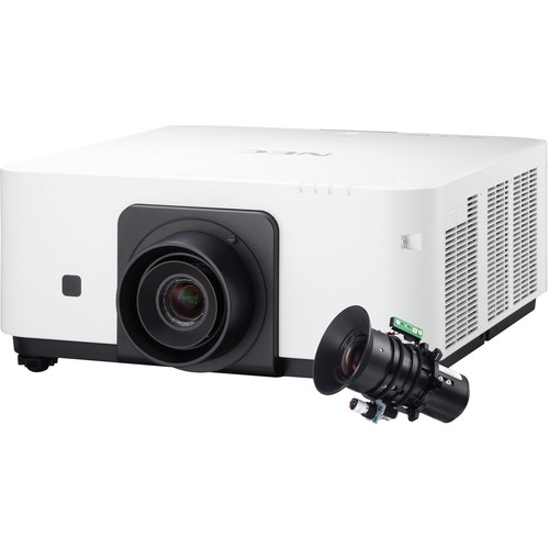 NEC 6000 Lumen WXGA Professional Installation Laser DLP Projector with NP36ZL Lens - NP-PX602WL-W-36