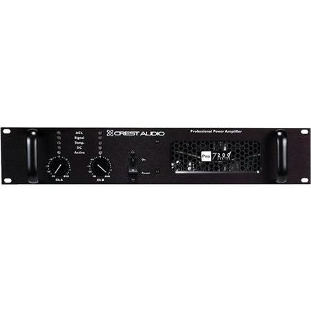 Crest Audio Professional Stereo Power Amplifier 6500W at 4Ohms Bridged Mono Power - PRO 9200