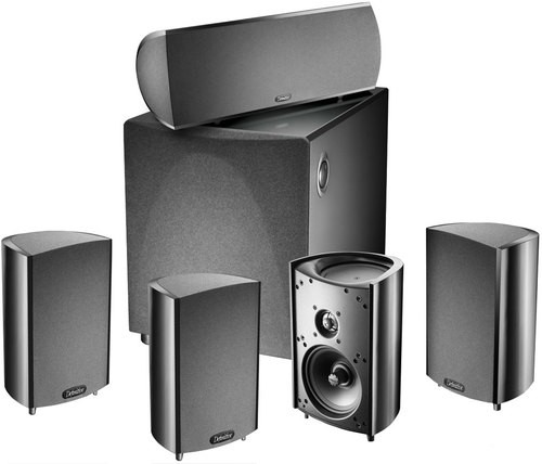 Definitive Technology ProCinema 600 System 5.1 Home Theater Speaker System - PROCIN600B