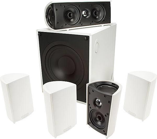 Definitive Technology ProCinema 600 System 5.1 Home Theater Speaker System - PROCIN600W