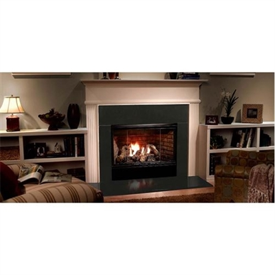 "Majestic Reveal 42"" Radiant Open Hearth B-Vent Gas Fireplace with IntelliFire - RBV4842IT"