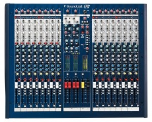 Soundcraft LX7ii 16 Channel Live Mixing Console - RW5674