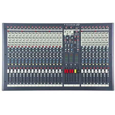 Soundcraft LX7 II 24 Channel Recording Mixer - RW5675