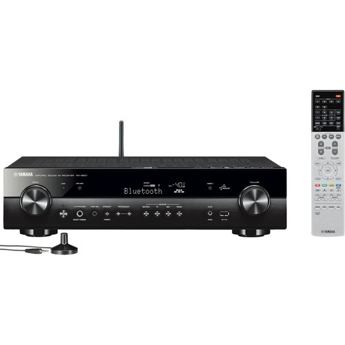 Yamaha 5.1-Channel Slim Network A/V Receiver - RX-S601BL   NCAA FINAL 2 PRICE EXPLOSION)