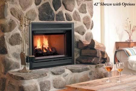Majestic Fireplaces 42 Inch Heat Circulating Fireplace - SA42C