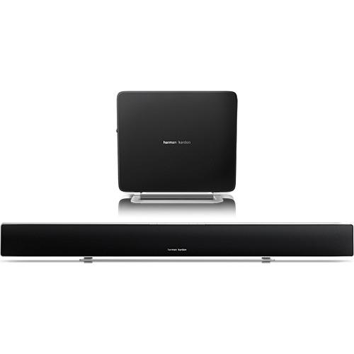 Harman Kardon Ultra-Slim Wireless Home Theater System with Soundbar & Compact Subwoofer - SABRE SB35