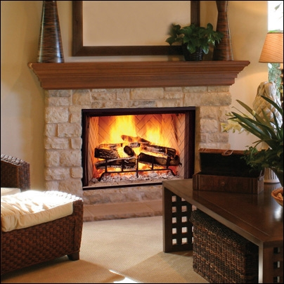 "Majestic Biltmore 50"" Radiant Wood Burning Fireplace - SB50HB"