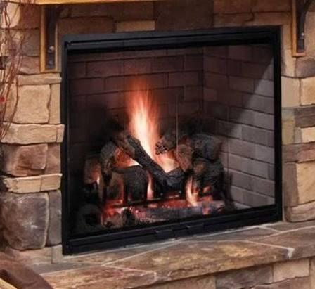 Majestic Biltmore 42 Inch Radiant Wood Burning Fireplace - SB80