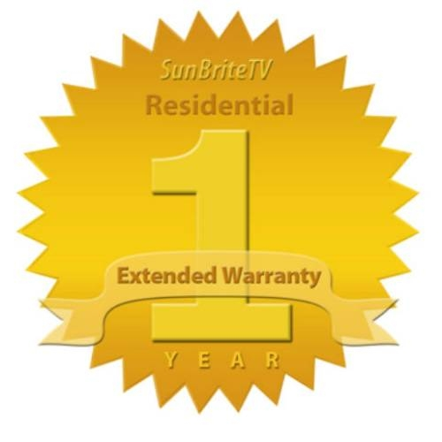 "Sunbrite TV 65"" Residential One year Extended Warranty - SB-EW65-3Y"