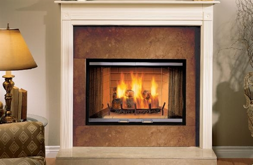 "Majestic Sovereign 42"" Woodburning Radiant Fireplace - SR42A"