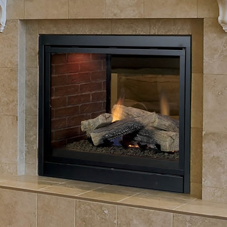 "Monessen Through Direct Vent Fireplace 36"" STLDVPPSC"
