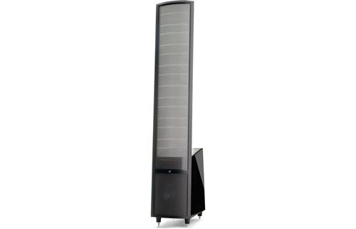 MartinLogan Theos Floor-Standing Speaker (High-Gloss Piano Black) - THEGBLD