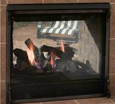 Majestic Twilight II Indoor/outdoor fireplace with IntelliFire Ignition (NG) - TWILIGHT-II-C